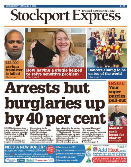 Stockport Express Subscription